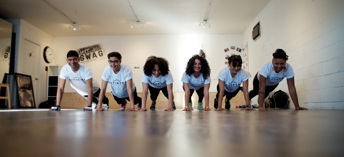Autonomy Personal Training - A Smiling Group Class
